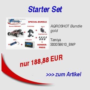 AQROSHOT Bundle gold 188,88 EUR